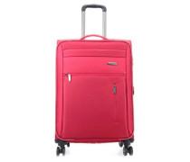 Capri 4-Rollen Trolley rot 66 cm