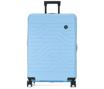 BY Ulisse 4-Rollen Trolley hellblau