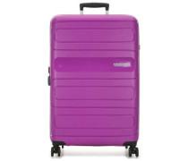 Sunside 4-Rollen Trolley violett