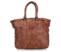 Ladybag Handtasche cognac