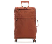 X-Travel 4-Rollen Trolley rostbraun cm