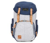 Weekender Rucksack 15″ grau/blau