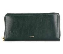 Logan RFID Geldbörse dunkelgrün
