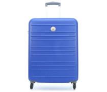 Carlit 4-Rollen Trolley blau 66 cm