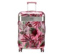 Spotlight Floral 4-Rollen Trolley pink