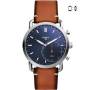The Commuter Hybrid-Smartwatch silber/blau