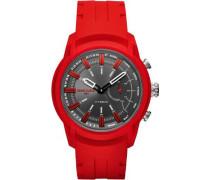 Armbar Hybrid-Smartwatch rot