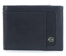 RFID Geldbörse blau