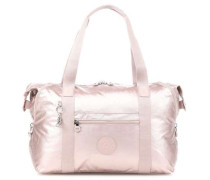Basic Plus Art M Weekender metallic pink