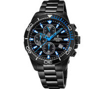 The Originals Chronograph schwarz/blau