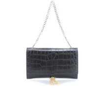 Class RSVP Couture Clutch schwarz