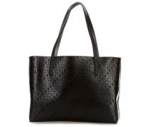 reversible Shopper schwarz/silber