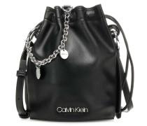 Chained Bucket bag schwarz