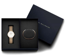 Classic Petite Geschenkset Melrose Uhr + Armreif Quarzuhr