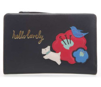 Hello Lovely Geldbörse dunkelblau