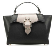 Sancha Handtasche schwarz/silber