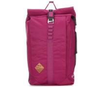 Scrambler Rolltop Rucksack 15″ pink