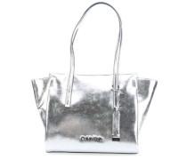 Frame Handtasche silber