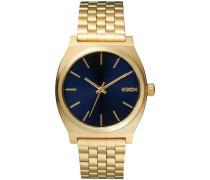 Time Teller Quarzuhr gold