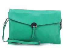 Nappa Lotus Schultertasche smaragdgrün
