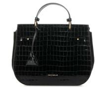Didi Croco Handtasche schwarz
