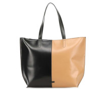 Fusion Colourblock Shopper schwarz/braun
