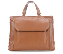 Die Zeit 16 Handtasche 13″ cognac