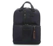 Brief Laptop-Rucksack 15,6″ dunkelblau
