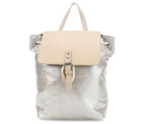 Foxpacker Rucksack silber/beige