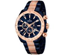 Prestige Chronograph blau