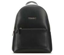 Iconic Tommy Rucksack schwarz