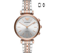 Connected Hybrid-Smartwatch silber/roségold