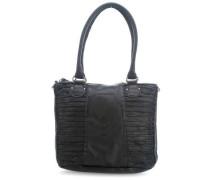 So Sweet Riffel Handtasche schwarz
