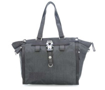 Nylon Show Off Handtasche grau