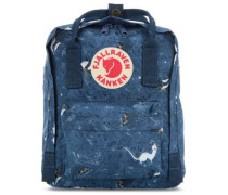 Kånken Art Mini Rucksack blau