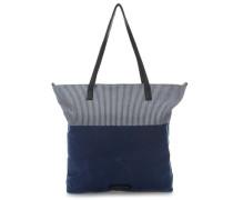 My Way Shopper blau/weiß