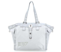 Nylon Show Off Shopper grau