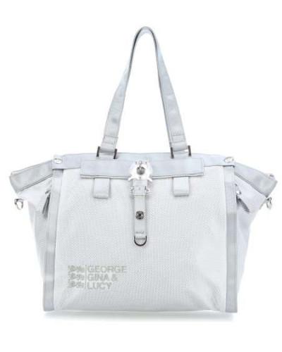 Nylon Show Off Shopper grau
