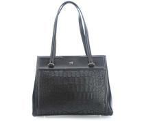 Class Crocodilia Handtasche schwarz