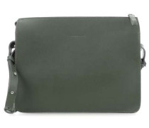 Leather Classics Franka Schultertasche grün