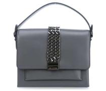 K/Chain Closure Handtasche grau