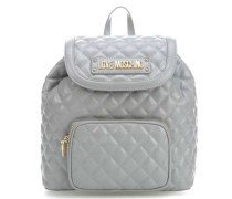 New Quilted Rucksack grau