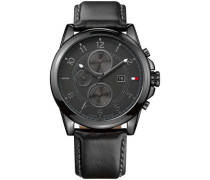 Sport Luxury Chronograph schwarz