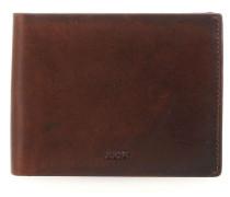 Loreto Typhon RFID Geldbörse dunkelbraun