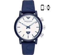 Connected Hybrid-Smartwatch blau