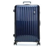 Riccione 4-Rollen Trolley blau
