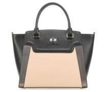 Portena Handtasche schwarz/beige