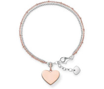 Love Bridge Armband roségold/silber