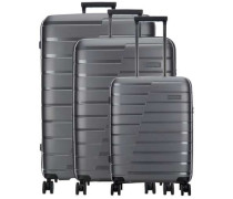 Air Base 4-Rollen Trolley Set anthrazit