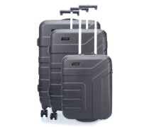 Vector 4-Rollen Trolley Set anthrazit